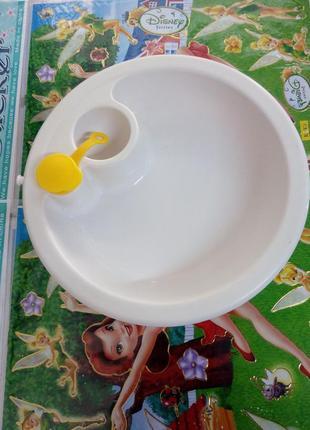 Тарелка для кормления с подогревом
