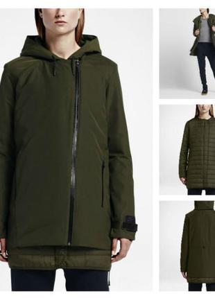 Xs,s,m,l,xl парка с капюшоном, дождевик, куртка, пальто nike uptown 3-in-1