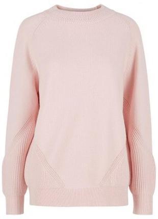 Y.a.s длинный розовый пуловер, джемпер, свитер, с