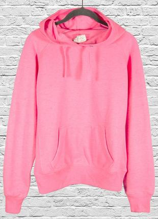 Розовая толстовка с капюшоном, женская толстовка розовая, оверсайз толстовка