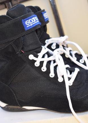 Замшевые боксерки борцовки кроссовки кеды