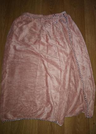 Полотенце халат на резинке