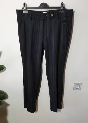 Шерстяные брюки gunex brunello cucinelli