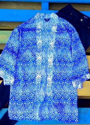 Стильная,яркая блуза кимоно