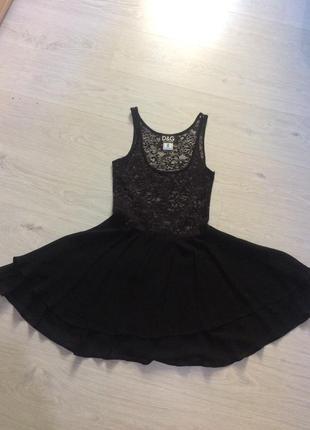 Кружевное платье d&g в бельевом стиле
