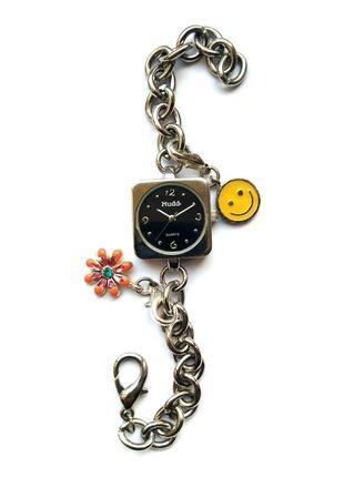 Mudd md2507 часы из сша с браслетом цепочкой мех. japan miyota