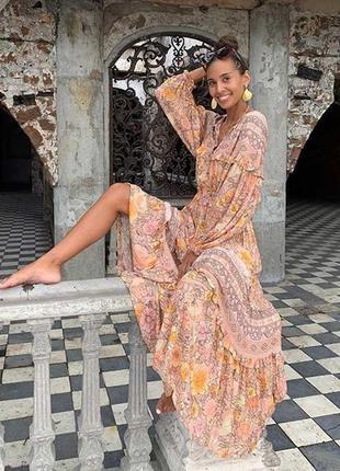 Платье в стиле бохо как у блогеров