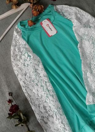 Кофточка с гипюровыми рукавами pat pat2 фото