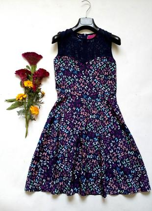 Красивейшее лёгкое платье в бабочки