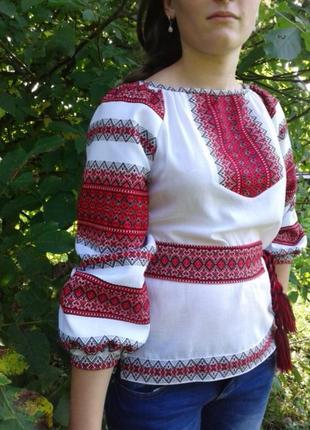 Вышиванка украинская сорочка р.42-56