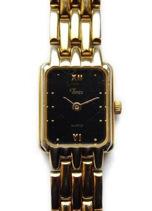 Timex прямоугольные часы из сша сборка u.s. virgin islands