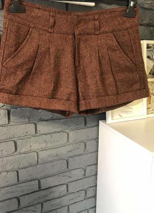 Тёплые шорты женские