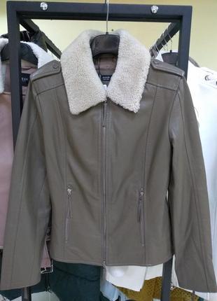 Кожаная куртка basler
