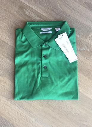 Calvin klein футболка, поло, мужская. l, xl. состав: 100% хлопок.