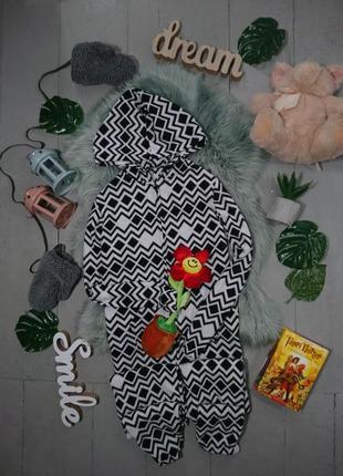 Теплая флисовая пижама кигуруми слип #31