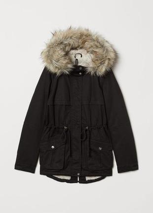 Куртка парка h&m р-р m