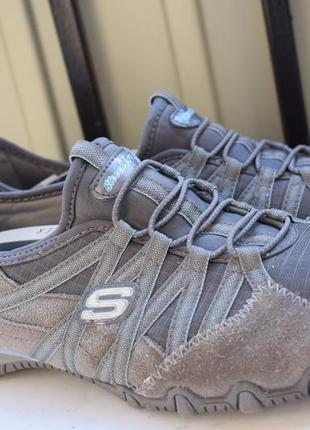 Замшевые мокасины кеды спортивные туфли скечерс