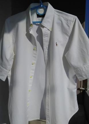 Крутая рубашка с коротким рукавом