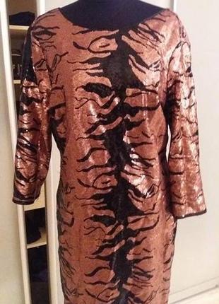 Платье нарядное.новогоднее h&m раз. m-l (12-14)