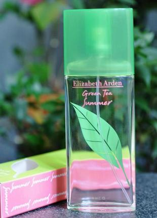 Elizabeth arden green tea summer туалетная вода,100 мл