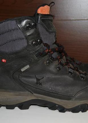 Ecco 41р ботинки кожаные gore-tex. кожа яка