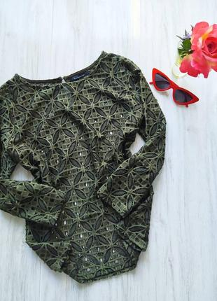 Красивая блуза хаки 🖤