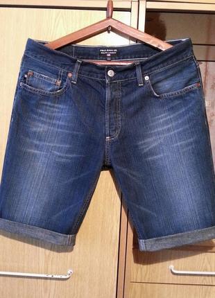 Джинсовые шорты,бриджи ralph lauren.оригинал.