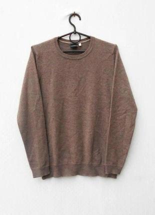 Осенний зимний свитер шерстяной кашемировый базовый с длинным рукавом 🌿