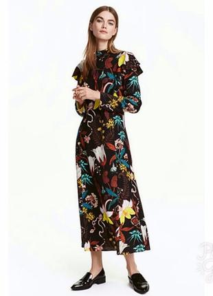 """Красивенное платье """"h&m"""", размер 34."""