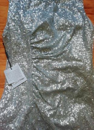 Платье в паетки calvin klein