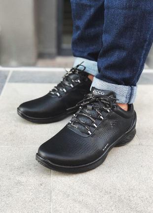Шикарные мужские  кроссовки туфли ecco biom fjuel