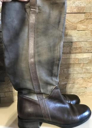 Стильные  кожаные сапоги donna piu италия