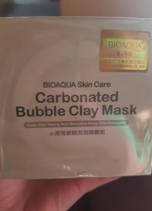 Carbonated bubble clay mask  оригинал .маска из кореи