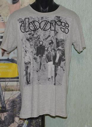 Футболка мерч bershka rock bands the doors