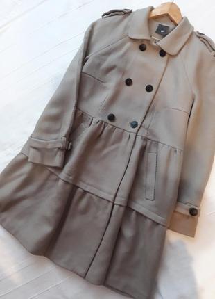 Heartmade julie fagerholt дизайнерское#эксклюзивное#шерстяное пальто#тренч чистая шерсть.