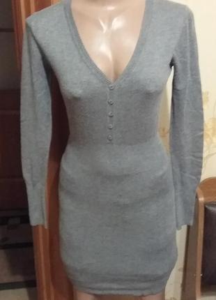 Тепленькое платье