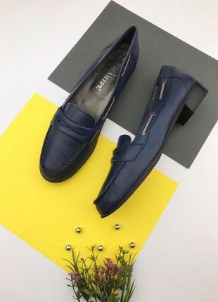 Итальянские кожаные туфли maripe
