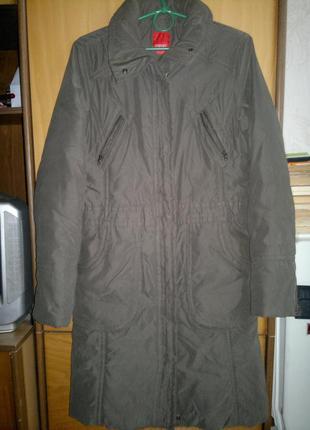 Пальто на синтепоне с капюшоном еsprit2