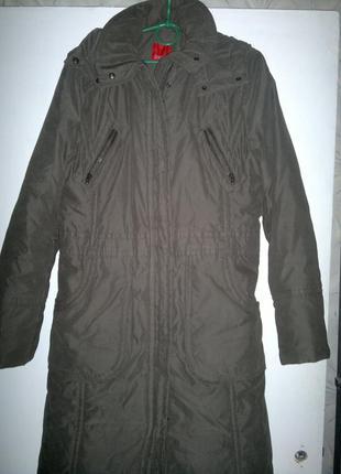 Пальто на синтепоне с капюшоном еsprit4