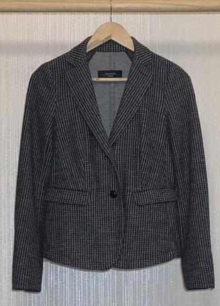 100% шерстяной пиджак от люкс бренда max mara