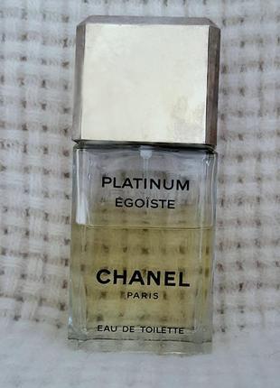 Туалетная вода, platinum egoiste (эгоист) chanel, оригинал