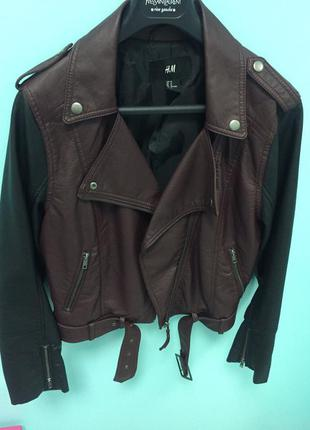 Куртка полиуретановая h&m