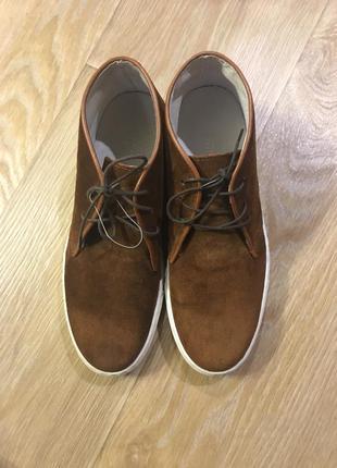 Стильная качественная замшевая обувь kiomi