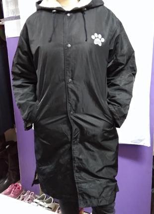 Куртка длинная, зимняя, женская