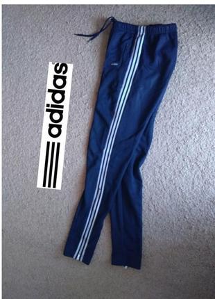 Штаны adidas спортивные винтаж ретро archive series s xs адидас зауженые