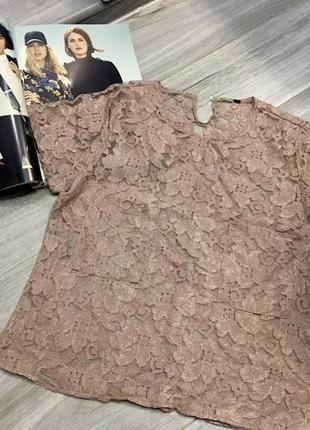 🖤 нежная кружевная блуза