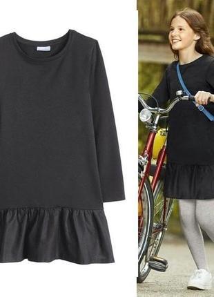 Платье для девочки р. 134 140 pepperts германия с рюшами oversize оверсайз