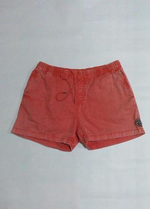 Джинсовые шорты на резинке pull&bear,36, xl