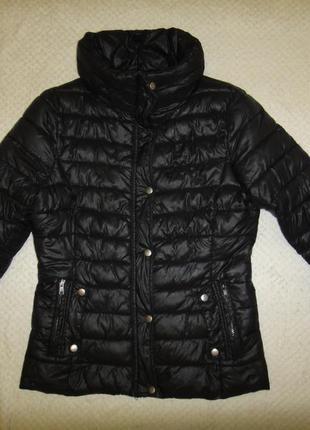 Красивая демисезонная куртка на синтепоне, теплая river р. 46-48 (м)