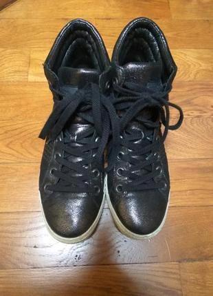 Ботинки 100%кожа австрия